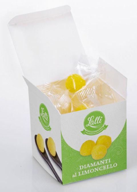 diamanti di zucchero limoncello