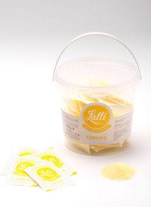 bustine di zucchero al limone