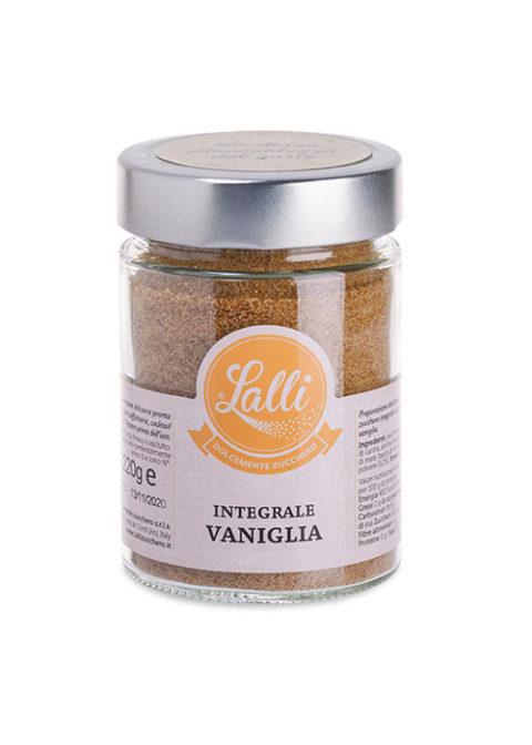 zucchero integrale aromatizzato vaniglia