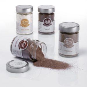 zucchero aromatizzato cacao e nocciola